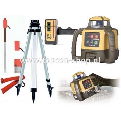 INTRODUCTIE Topcon Bouwlaser RL-H5A (mm ontvanger) met baak & statief