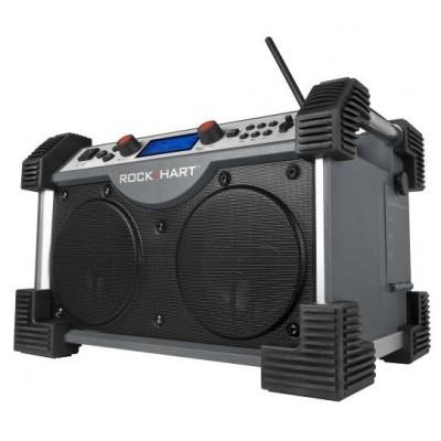 ROCKHART® Bouwradio + GRATIS batterijen