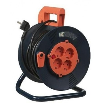 Kabelhaspel XPN 50m Schuko H05VV-F 3x1,5mm²