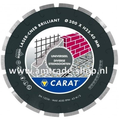 CARAT LASER UNIVERSEEL BRILLIANT - CNEB Ø300mm