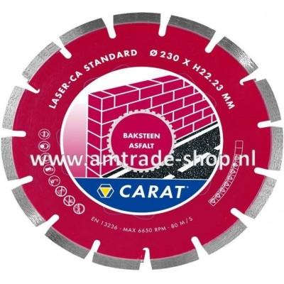CARAT LASER BAKSTEEN / ASFALT STANDAARD - CA Ø180mm