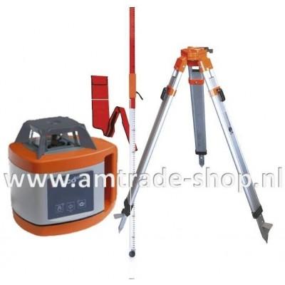 Horizontale bouwlaser 600 H Set inclusief baak & statief