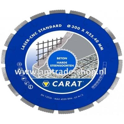 CARAT LASER BETON STANDAARD - CNC Ø300mm