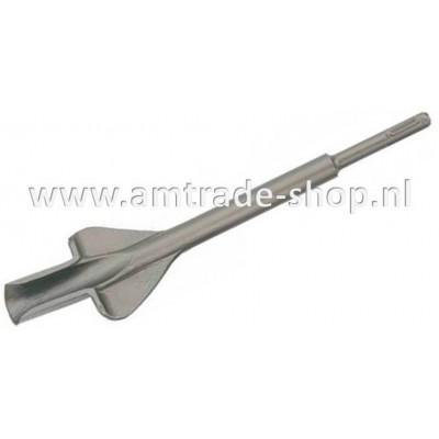 SDS-plus sleuf beitel L 250mm B 22mm