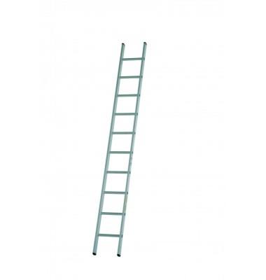 Dirks enkele rechte ladder 21 trede DOE 21 ongecoat