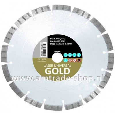 CARAT UNIVERSEEL ECONOMY - GOLD Ø150mm