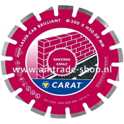 CARAT LASER ASFALT BRILLIANT - CAB Ø400mm
