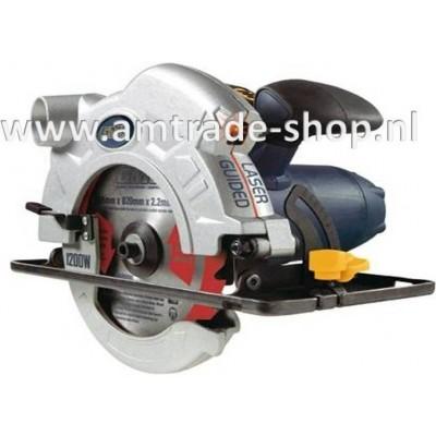 Cirkelzaagmachine AM165BL / 1200W