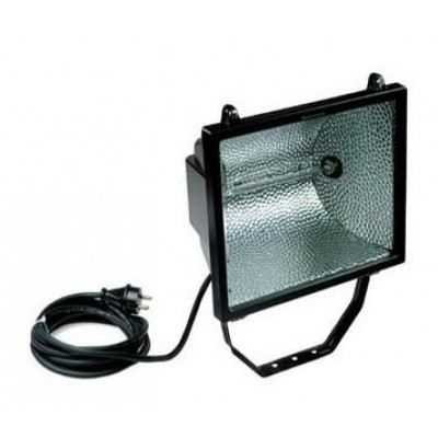 Halogeen armatuur 1000-500W II-230V-lamp-5m