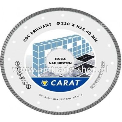 CARAT TEGELS / NATUURSTEEN BRILLIANT - CDC Ø150mm