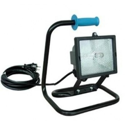 Halogeen armatuur 300W-II 230V-lamp.VC-10m-HFS
