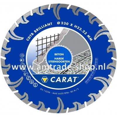 CARAT TURBO BRILLIANT - CDTB Ø125mm