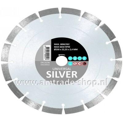 CARAT UNIVERSEEL ECONOMY - SILVER Ø150mm