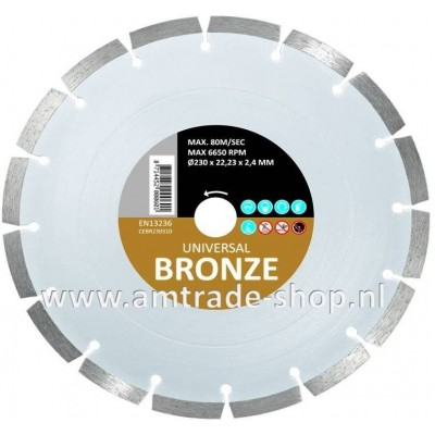CARAT UNIVERSEEL ECONOMY - BRONZE Ø230mm