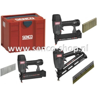 Senco ProSeries Systainerset: 3 tackers in T-loc systainer ©