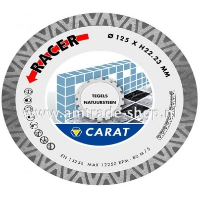 CARAT TEGELS / NATUURSTEEN RACER - CDB Ø125mm