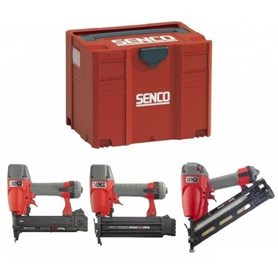 Senco 3-delige tackerset in systainer