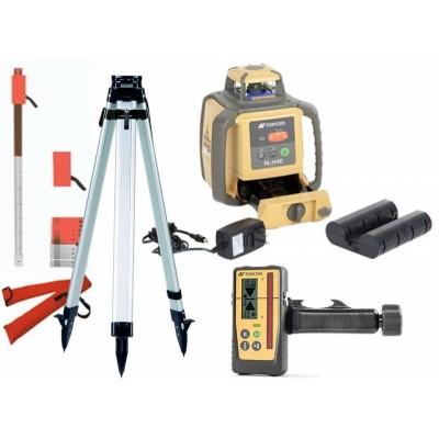 Bouwlaser RL-H4C met mm Ontvanger + statief & laserbaak